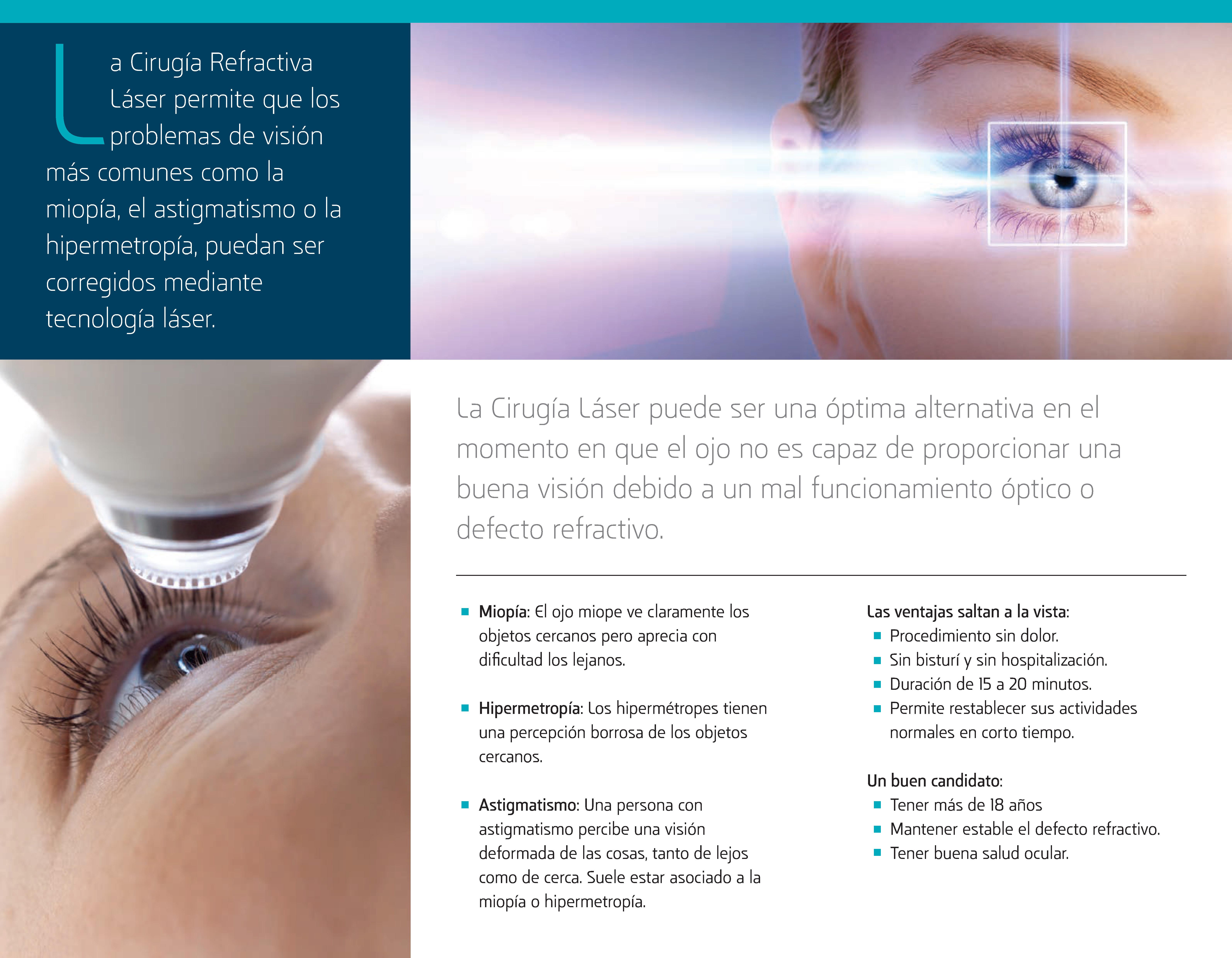 Cirugía Refractiva Láser